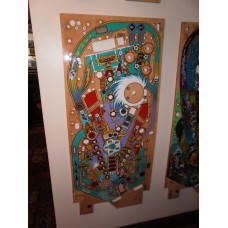 Bally World Cup Soccer Pinball Machine Playfield