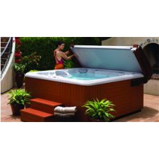 ProLift Hot Tub Cover Lifter designed for use with Caldera Spas