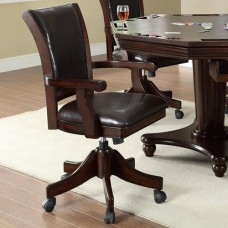 Bar Tables Upholstered Game Chair with Casters