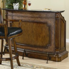 Clarendon Traditional Bar with Marble Top