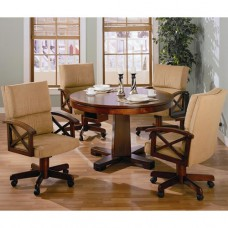 Marietta 5 Piece 3-in-1 Game Table Set