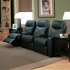 Director Casual Upholstered Reclining Theater Group