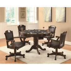 Turk 5 Piece Game Table Set