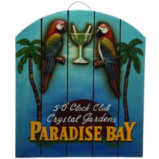 PARADISE BAY Wall Sign