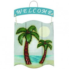 WELCOME PALMS Sign Wall