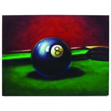 OIL PAINTING-8 BALL Wall Sign