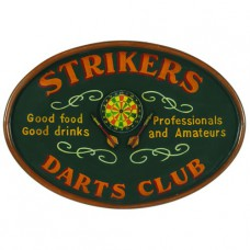 PUB SIGN-STRIKERS DARTS CLUB Wall Sign