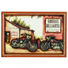 PUB SIGN-BUBBA'S BILLIARDS