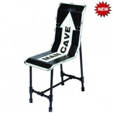 MAN CAVE METAL CHAIR