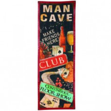 CANVAS-MAN CAVE Wall Sign