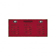University of GA Coat Rack