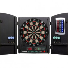 CricketMaxx 1.0 Dart Board with Wooden Cabinet