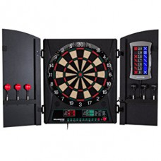 Bullshooter CricketMaxx 1.0 Electronic Dartboard & Cabinet Set