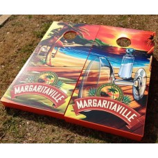 Margaritaville Wrapped Corn Hole Set