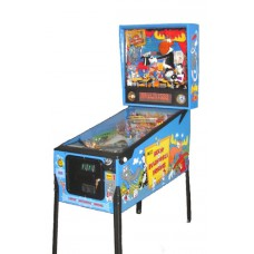 Data East Rocky and Bullwinkle Pinball Machine