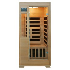 Genesis 1 Person Infrared Sauna w/ Carbon Heaters