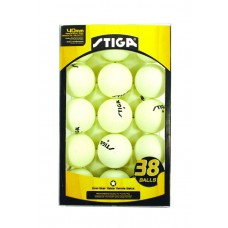 Stiga One-Star Table Tennis Balls 38 Count