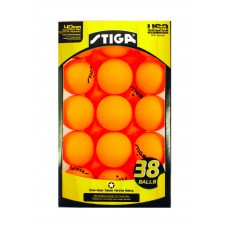 Stiga One Star Table Tennis Balls- 38 Balls