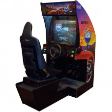 Cruisin USA Sit Down Arcade Driving Game by Midway