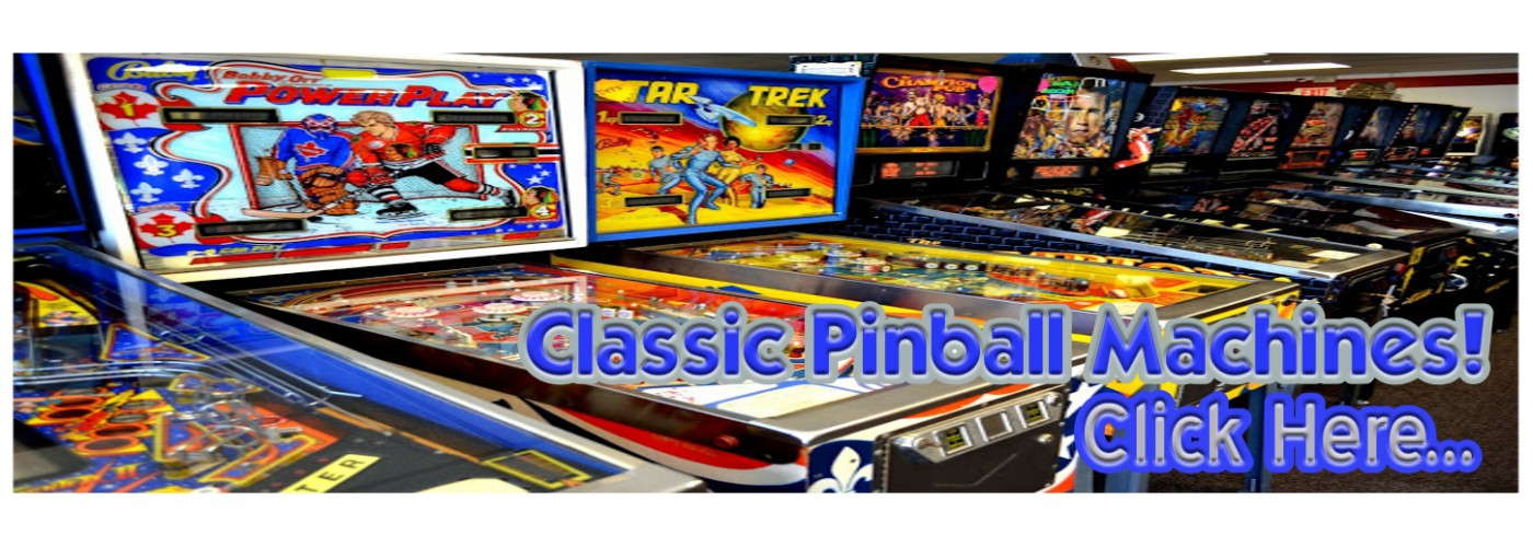 Pinball Machines (used)