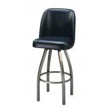 Captain Chair Barstool with Curved Metal Legs