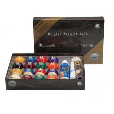 Super Aramith Tournament Pro Cup Billiard Ball Value Pack