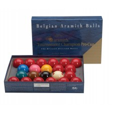 Aramith Tournament Champion British Style Snooker Ball Set