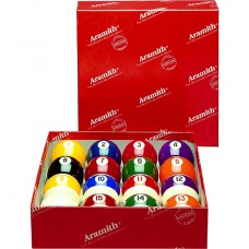 Aramith Continental Belgian Billiard Ball Set