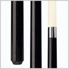 Bionic Black Merry Widow fiberglass one-piece cue