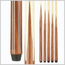 Maple four-prong one-piece cue