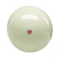 Super Aramith Pro Cue Ball with Red Logo