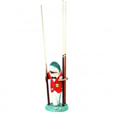 Red Shark Pool Cue Holder