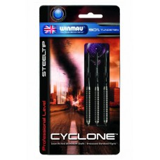Cyclone Retractable Point Steel Dart Set