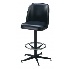 Captain Chair Barstool with Metal Stand Legs