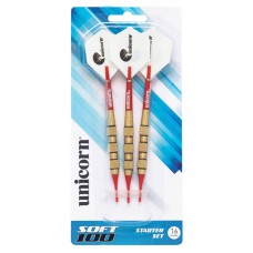 D71907 Unicorn Soft 100 Dart Set