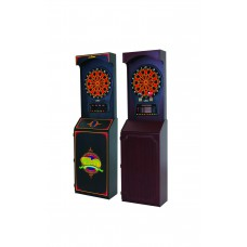 Freestanding Cabinet + CricketPro 800 Electronic Dartboard