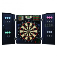 Bullshooter E-Bristle 1000 Electronic Dartboard & Cabinet Set