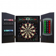 Bullshooter CricketMaxx 5.0 Electronic Dartboard & Cabinet Set