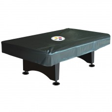 PITTSBURGH STEELERS 8-FT. DELUXE POOL TABLE COVER