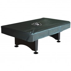 OAKLAND RAIDERS 8-FT. DELUXE POOL TABLE COVER