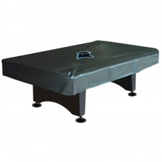 CAROLINA PANTHERS 8-FT. DELUXE POOL TABLE COVER