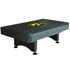 UNIVERSITY OF IOWA 8-FT. DELUXE POOL TABLE COVER