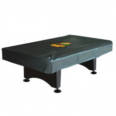 CHICAGO BLACKHAWKS® 8-FT. DELUXE POOL TABLE COVER