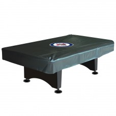 WINNIPEG JETS™ 8-FT. DELUXE POOL TABLE COVER