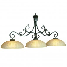 Barcelona glass 4 light fixture