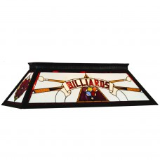 Knockdown stained glass 4 light fixture