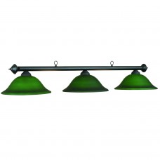 Marseilles glass 3 light fixture