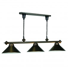 Pull Down metal 3 light fixture