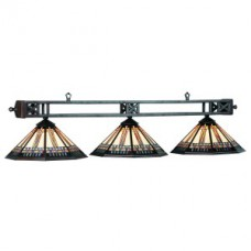 Winslow glass 3 light fixture